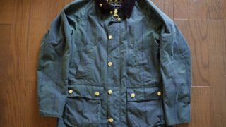Barbour BEDALEをThe Laundressで洗ってみた